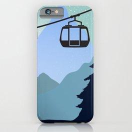The last ski lift - Sundance Ski Mountain iPhone Case