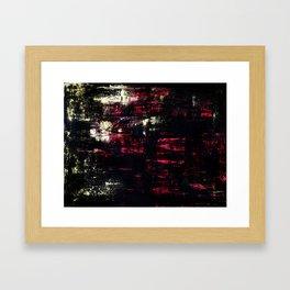 """""""Battle Of Light Vs. Dark"""" Framed Art Print"""