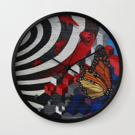 """""""The only constance is Change"""" Wall Clock"""