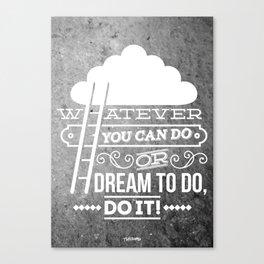 DO IT! Canvas Print