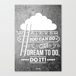 DO IT! Canvas Print