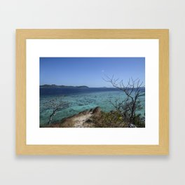 Off The Water - Coron, Palawan, Philippines Framed Art Print