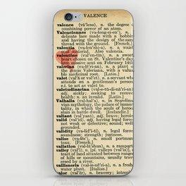 Valentine's Day (female version) iPhone Skin