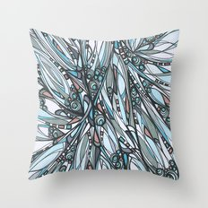 Cathedral Abstract Contemporary Art Throw Pillow