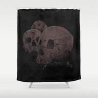 home sweet home Shower Curtains featuring Home Sweet Home by victor calahan