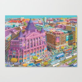 Anker Palace, Budapest Canvas Print