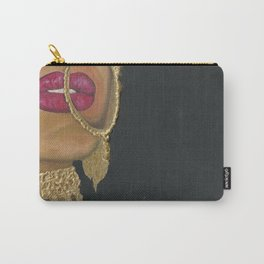 Woman With Jewelry Carry-All Pouch