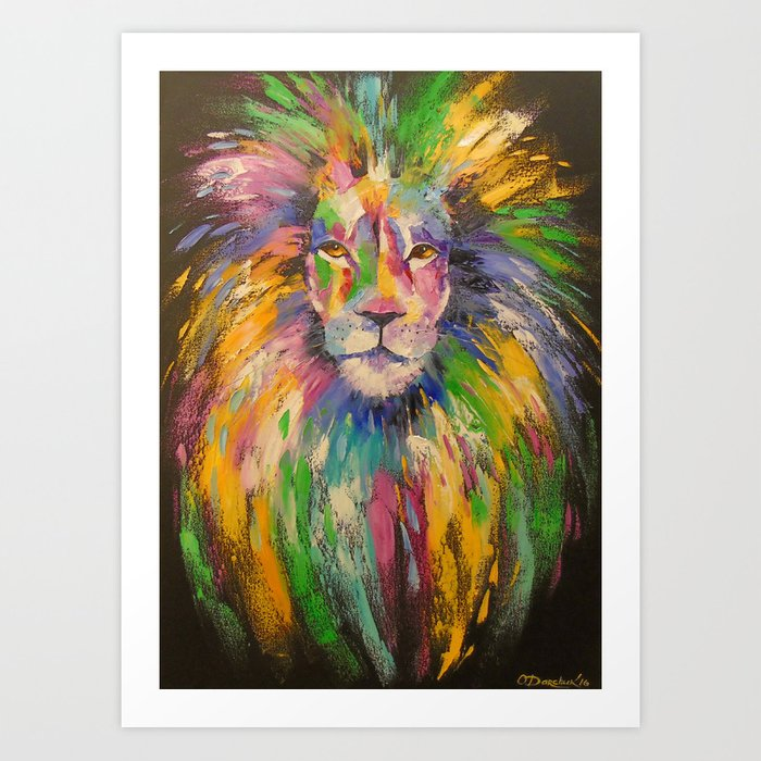 Lion Art Print