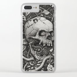 Vernal Decay Clear iPhone Case