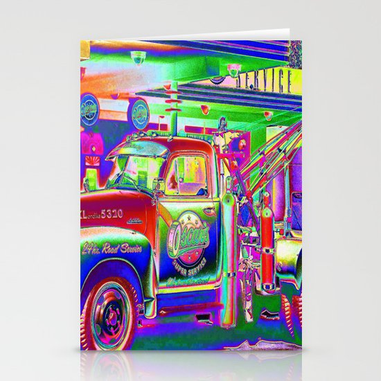 Hit by a Truck Stationery Cards