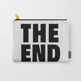 The End Black Carry-All Pouch