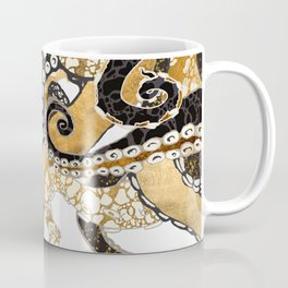 Metallic Octopus Coffee Mug