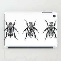 beetle iPad Cases featuring Beetle by Rhiannon Foster