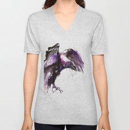 Flying raven Unisex V-Neck
