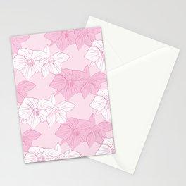 Pink Hellebores Stationery Cards