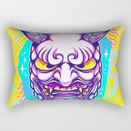 Neon Noh - Daikijin Rectangular Pillow