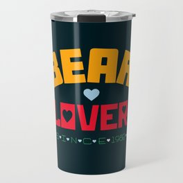 Bear Lover Travel Mug