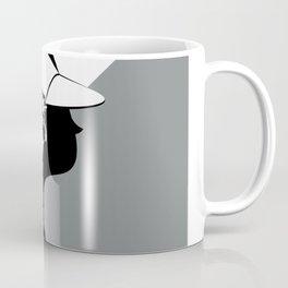 Girl profile Coffee Mug