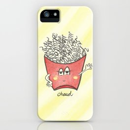 """""""french"""" fries iPhone Case"""