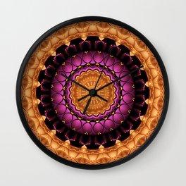 Mandala Self-esteem Wall Clock