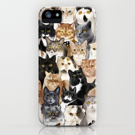 Catmina 2017 - ONE iPhone Case