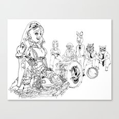 carnavalamerica Canvas Print