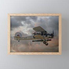 Stringbag Salute - (Swordfish Torpedo Bomber) Framed Mini Art Print