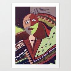 Vivid dreams Art Print