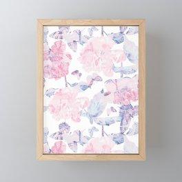 Dorothy's Roses Framed Mini Art Print