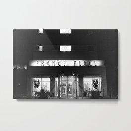 France Place Metal Print