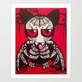 """Bat """"Murcielago""""  Art Print"""