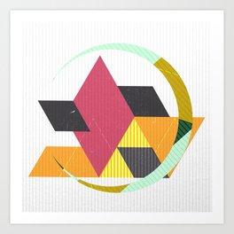 Geo 2 Art Print