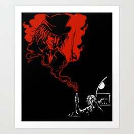 Jekyll and Hyde Art Print