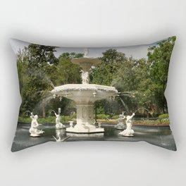 Forsyth Fountain in Forsyth Park Rectangular Pillow