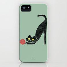 Fitz - the curious cat iPhone (5, 5s) Slim Case