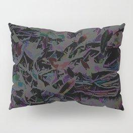 Flora Celeste Magnetite Leaves Pillow Sham