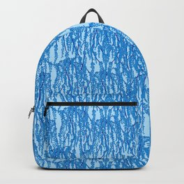 Cascading Wisteria in Blue Backpack