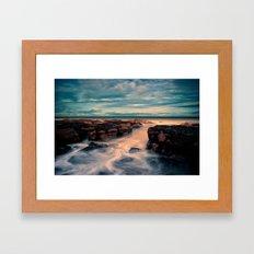 Dunbar Coast Framed Art Print