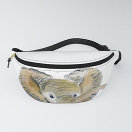 Hello,Anybody At Home? - Baby Elephant Fanny Pack