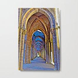 Abbey of San Galgano in Chiusdino, Sienna Tuscany, Italy Metal Print