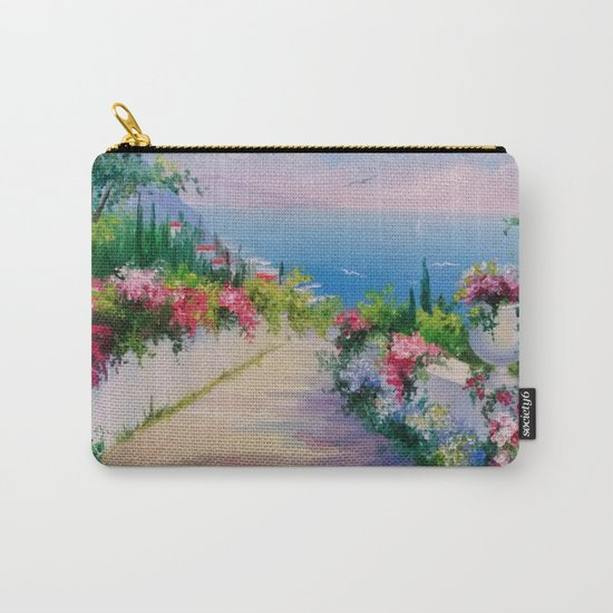 Road to the sea Carry-All Pouch