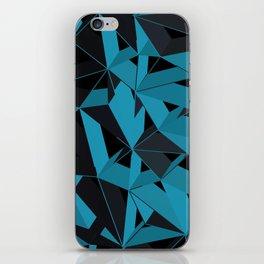 3D Futuristic GEO BG II iPhone Skin