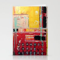 typewriter Stationery Cards featuring TYPEWRITER by Kathy Augustine