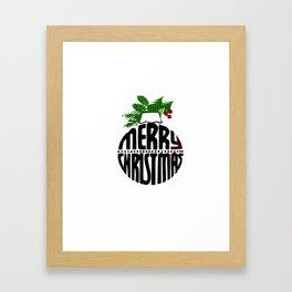 Christmas art Framed Art Print