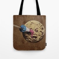 pop Tote Bags featuring Summer Voyage by Eric Fan