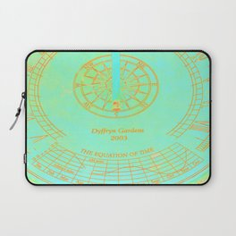 the equation of time in technicolor Laptop Sleeve