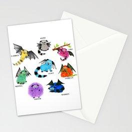 Eight Little Iggys Stationery Cards