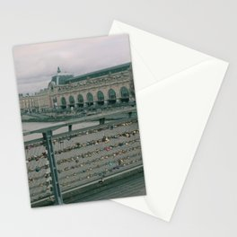 Love Locked in Paris Stationery Cards