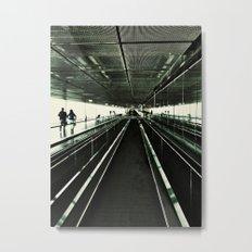 Walkway Metal Print