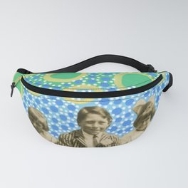 Playing With Soap Bubbles Fanny Pack